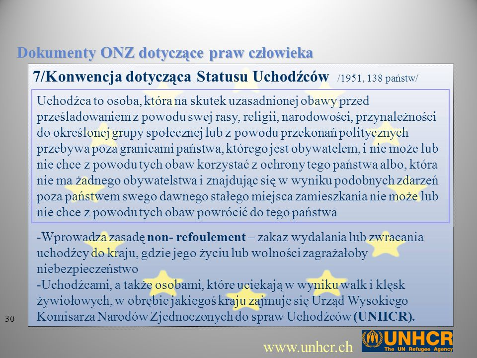 Dokumenty ONZ dotyczące praw człowieka