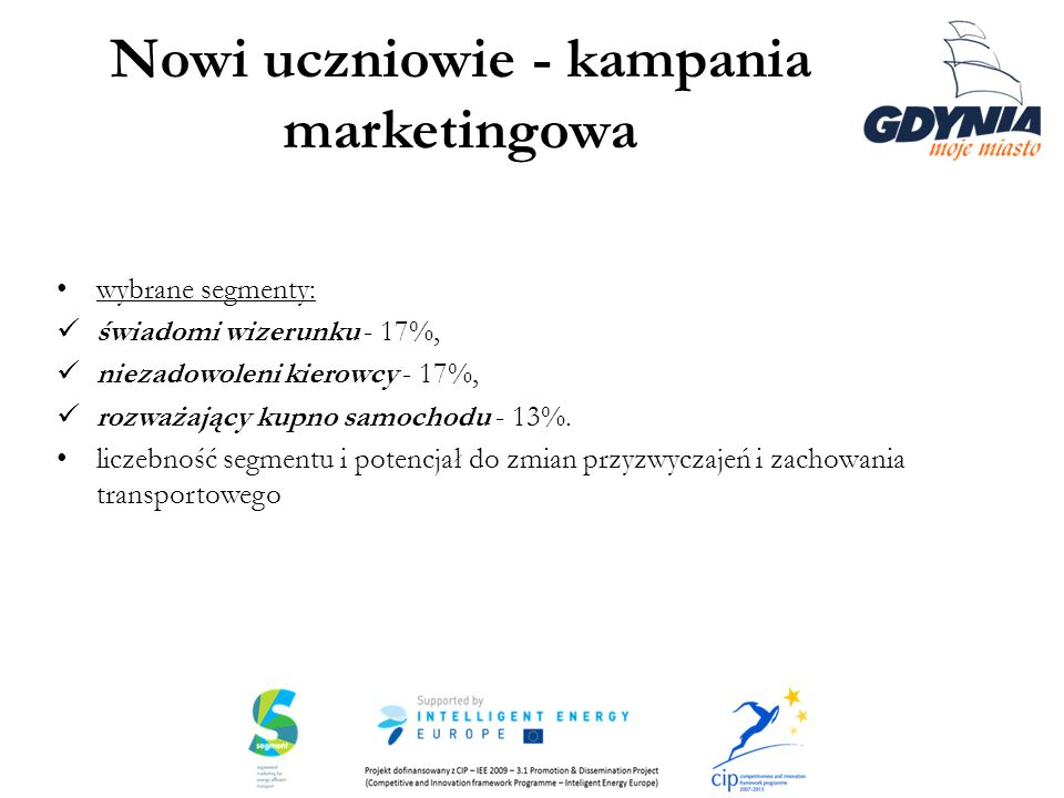 Nowi uczniowie - kampania marketingowa