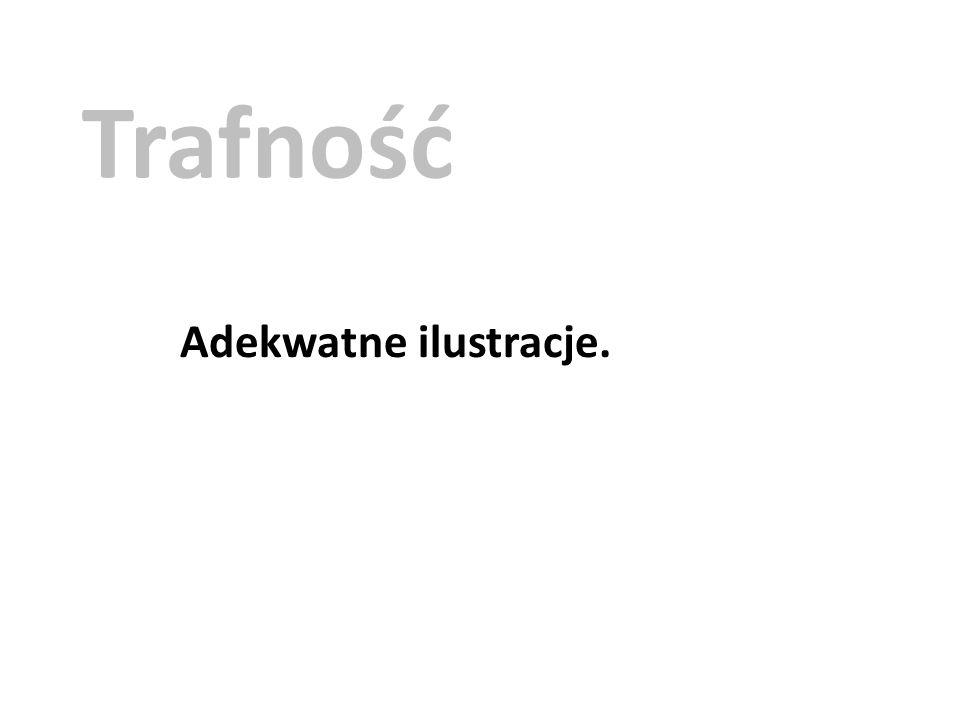 Trafność Adekwatne ilustracje.