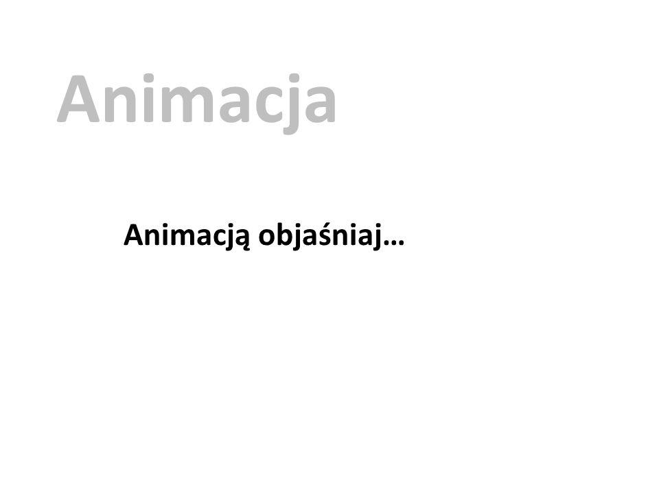 Animacja Animacją objaśniaj…