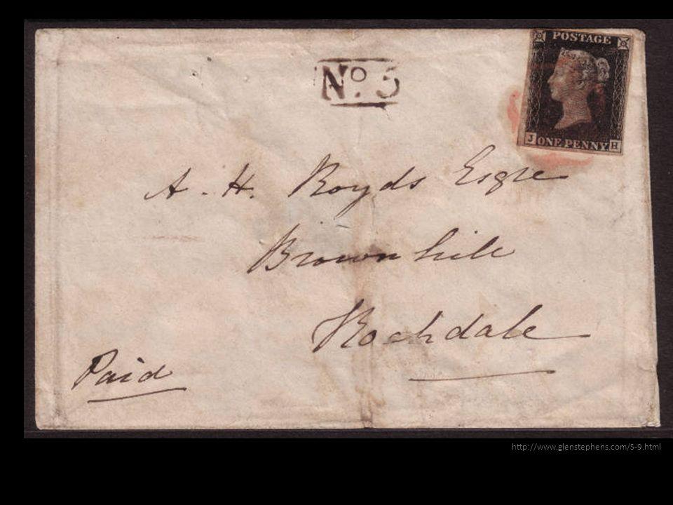 List zwykły i znaczek pocztowy – dygresja kiedy powstał – Mówimy o reformie poczty Ronalda Hilla.