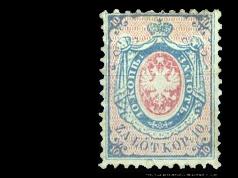Pierwszy polski znaczek 1860 rok.