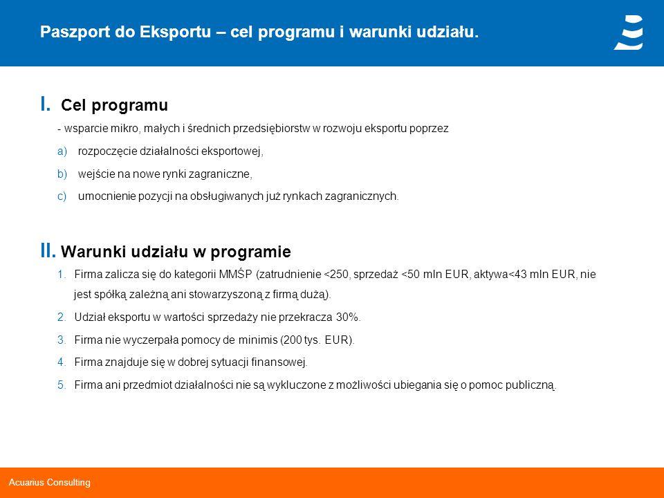 Paszport do Eksportu – cel programu i warunki udziału.