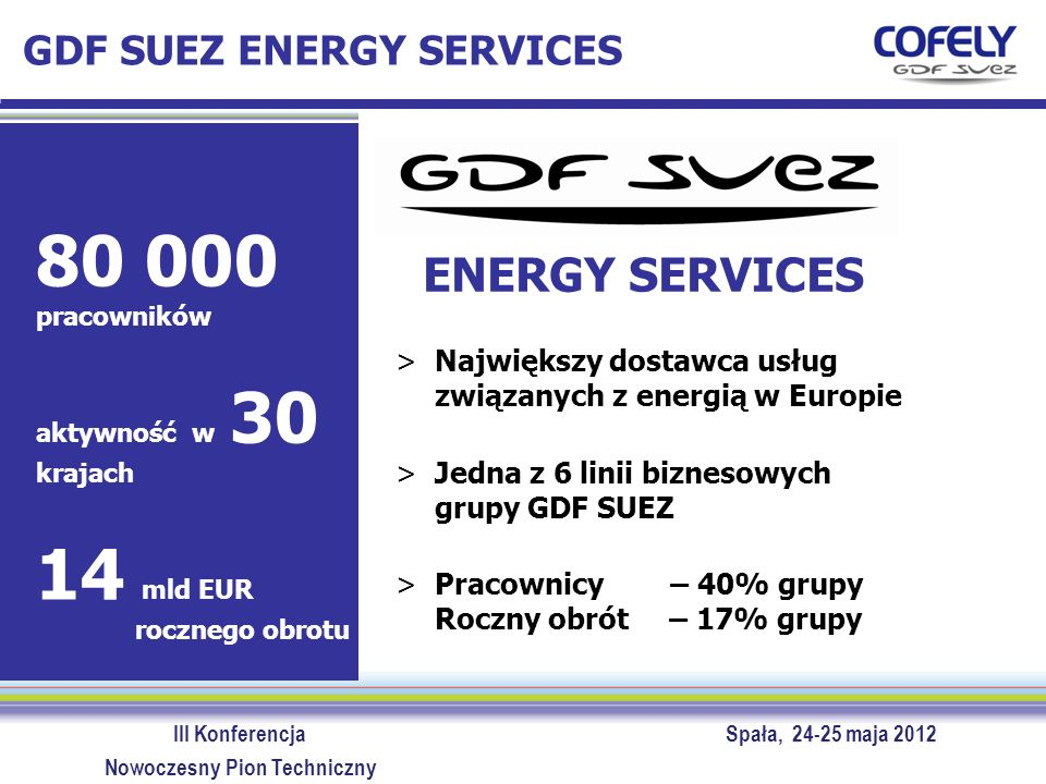 GDF SUEZ ENERGY SERVICES