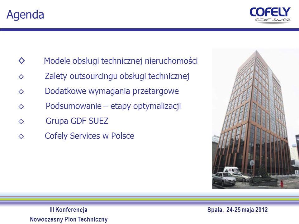 Agenda Modele obsługi technicznej nieruchomości