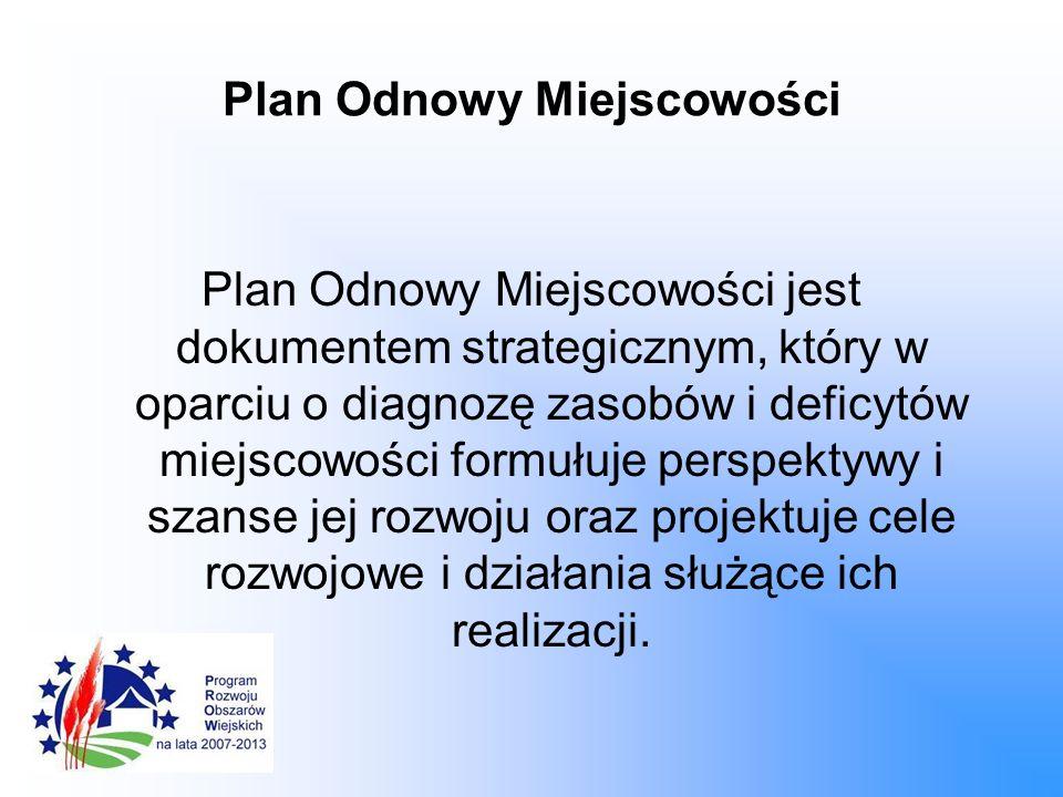 Plan Odnowy Miejscowości