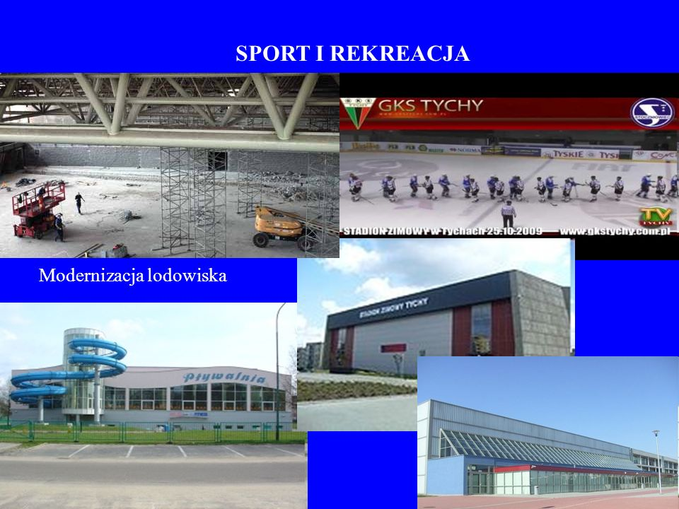 SPORT I REKREACJA Modernizacja lodowiska