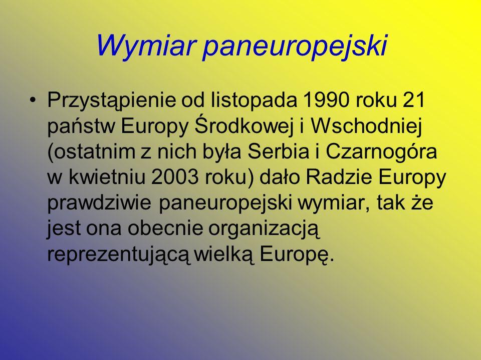 Wymiar paneuropejski