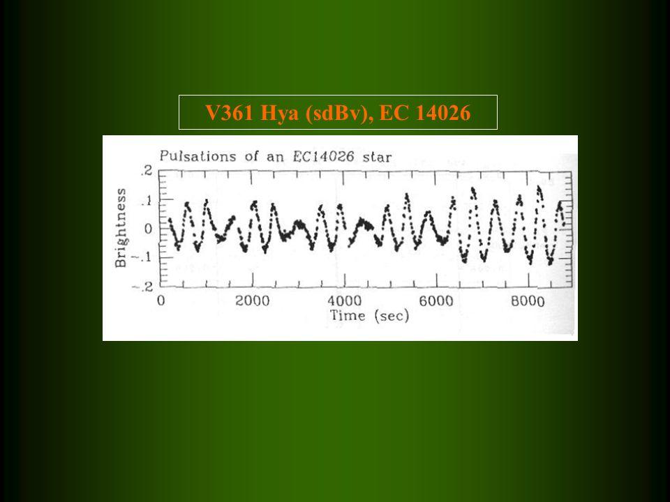 V361 Hya (sdBv), EC 14026