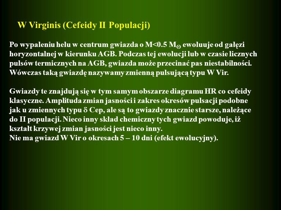 W Virginis (Cefeidy II Populacji)