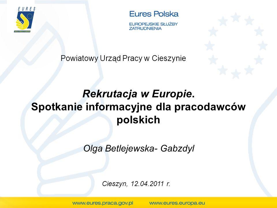 Rekrutacja w Europie. Spotkanie informacyjne dla pracodawców polskich