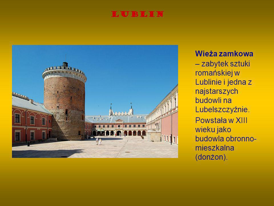 Lublin Wieża zamkowa – zabytek sztuki romańskiej w Lublinie i jedna z najstarszych budowli na Lubelszczyźnie.