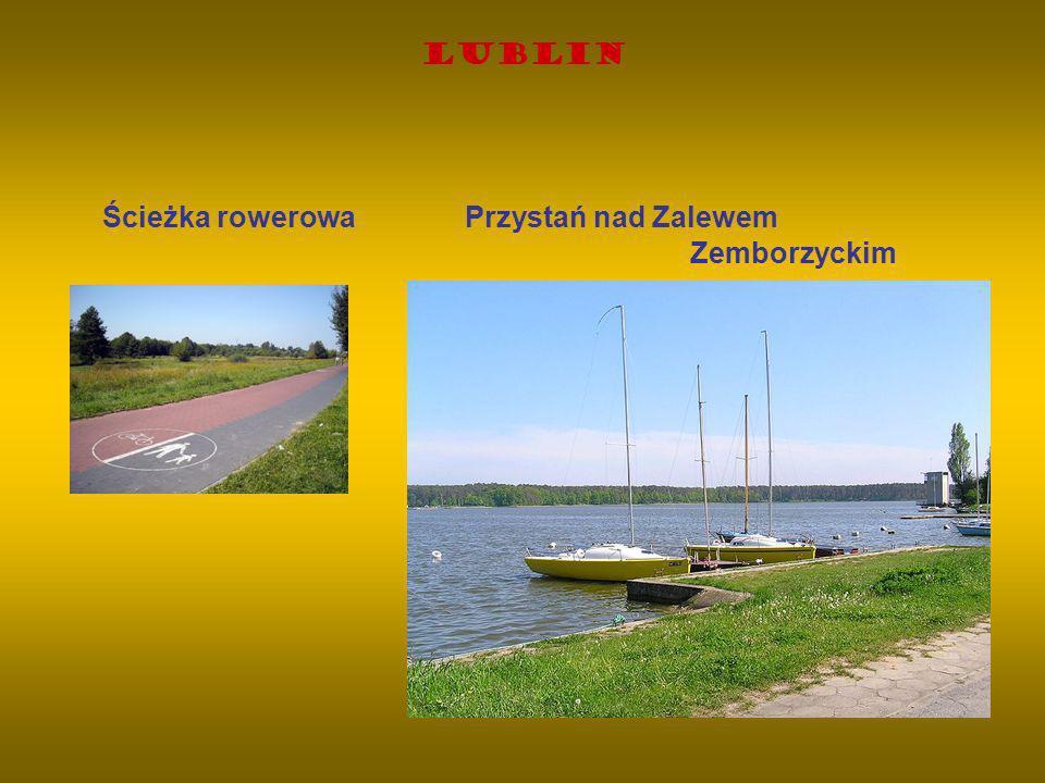Ścieżka rowerowa Przystań nad Zalewem Zemborzyckim