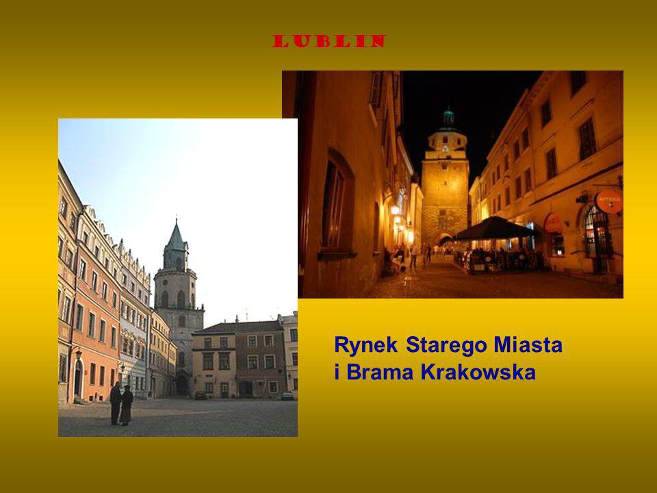 Rynek Starego Miasta i Brama Krakowska