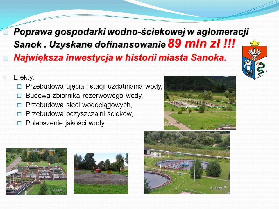 Największa inwestycja w historii miasta Sanoka.