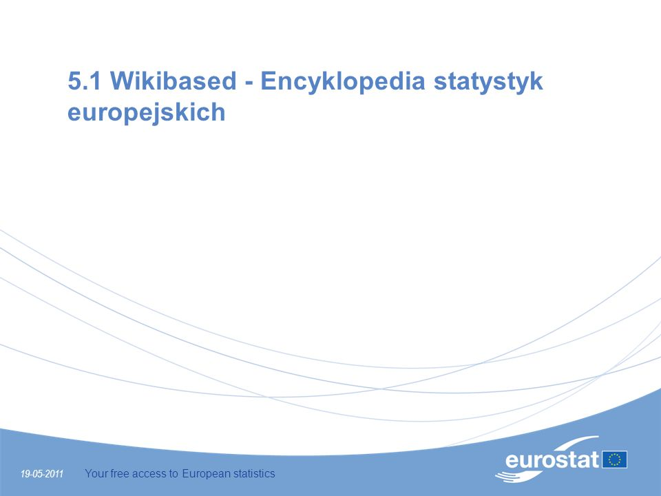 5.1 Wikibased - Encyklopedia statystyk europejskich