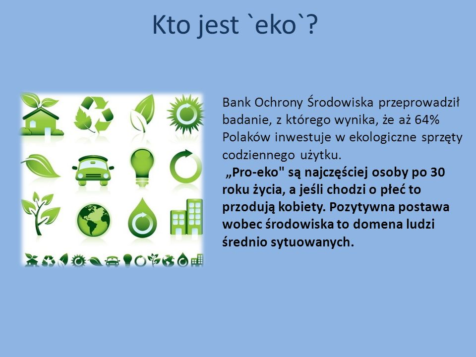 Kto jest `eko`