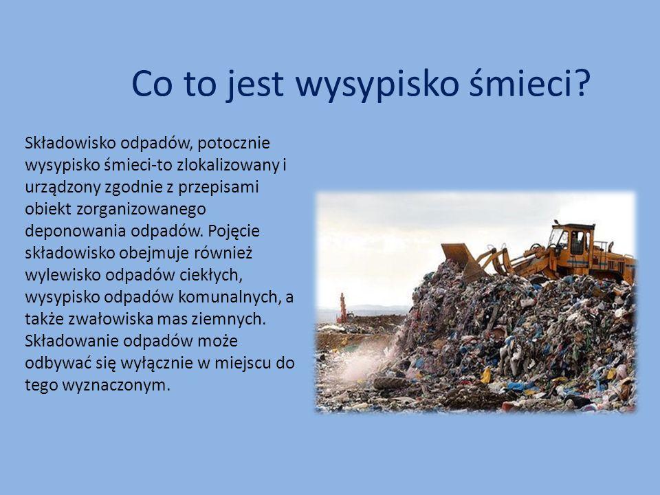 Co to jest wysypisko śmieci