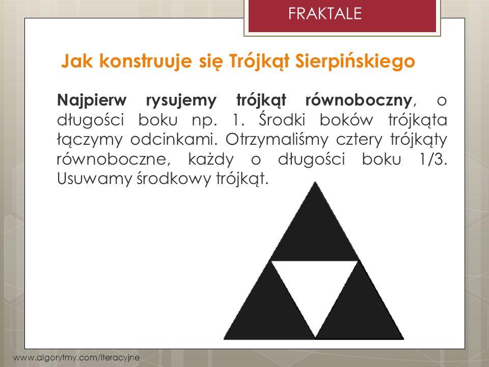 Jak konstruuje się Trójkąt Sierpińskiego