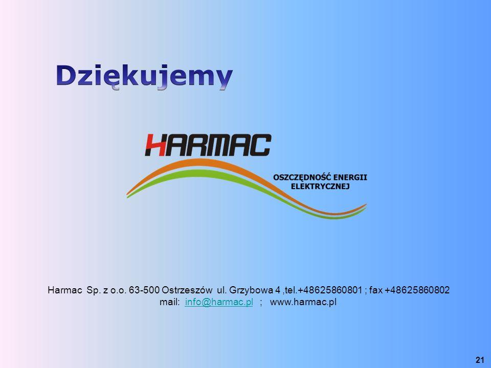 mail: info@harmac.pl ; www.harmac.pl