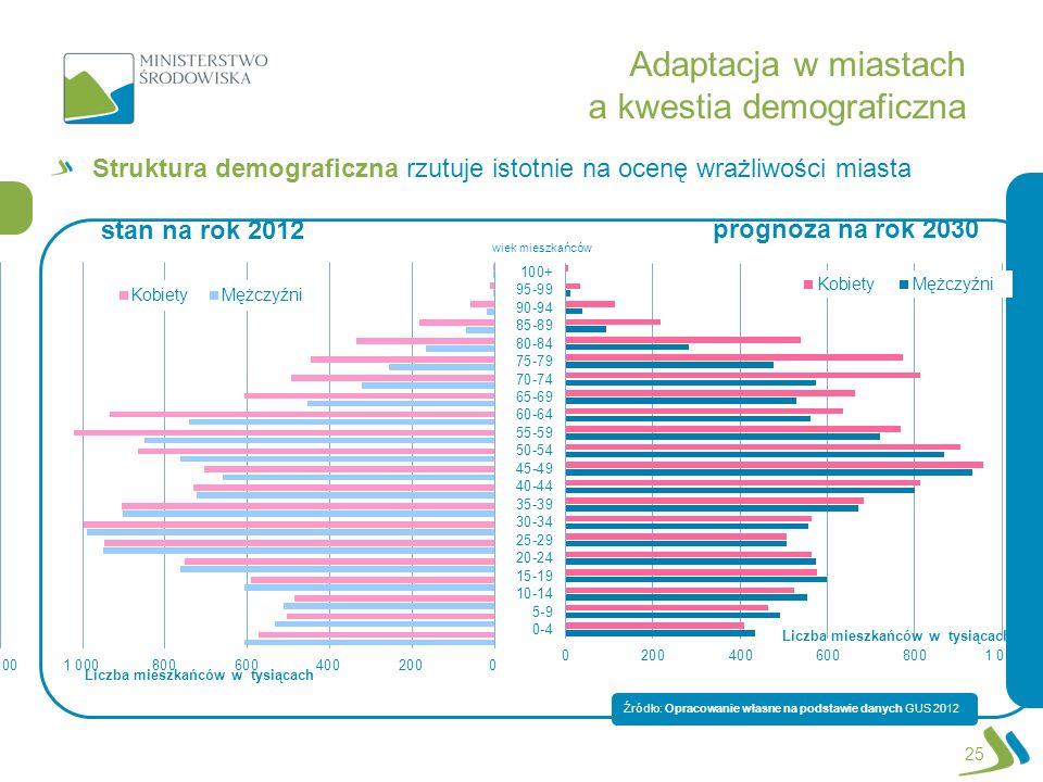Adaptacja w miastach a kwestia demograficzna