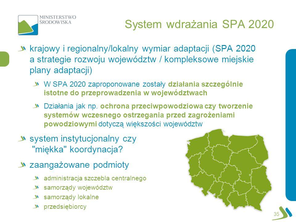 System wdrażania SPA 2020