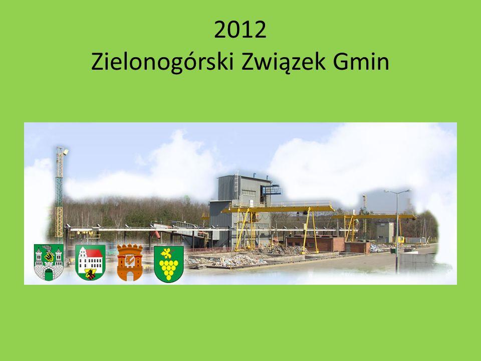 2012 Zielonogórski Związek Gmin