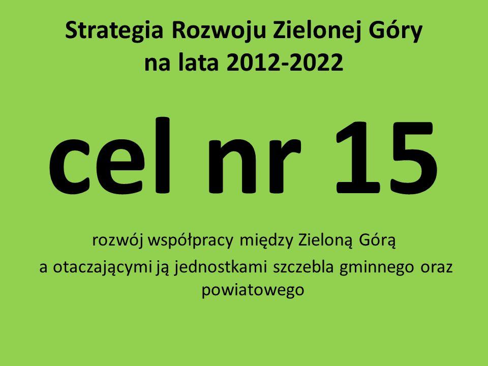 Strategia Rozwoju Zielonej Góry na lata 2012-2022