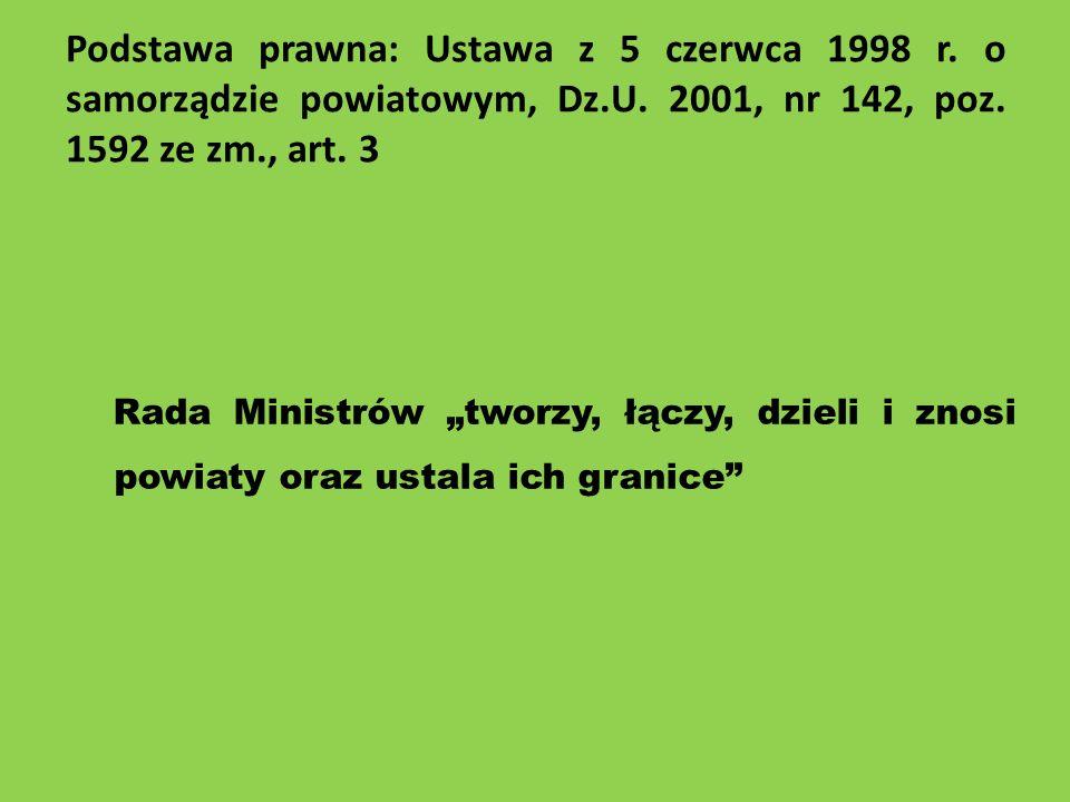 Podstawa prawna: Ustawa z 5 czerwca 1998 r
