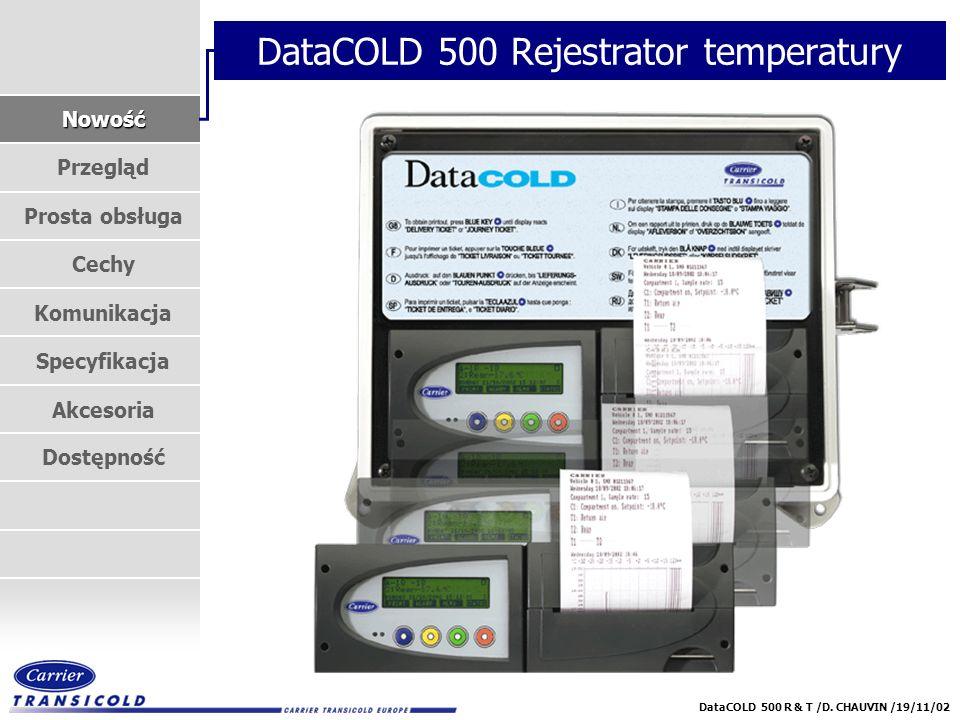 DataCOLD 500 Rejestrator temperatury