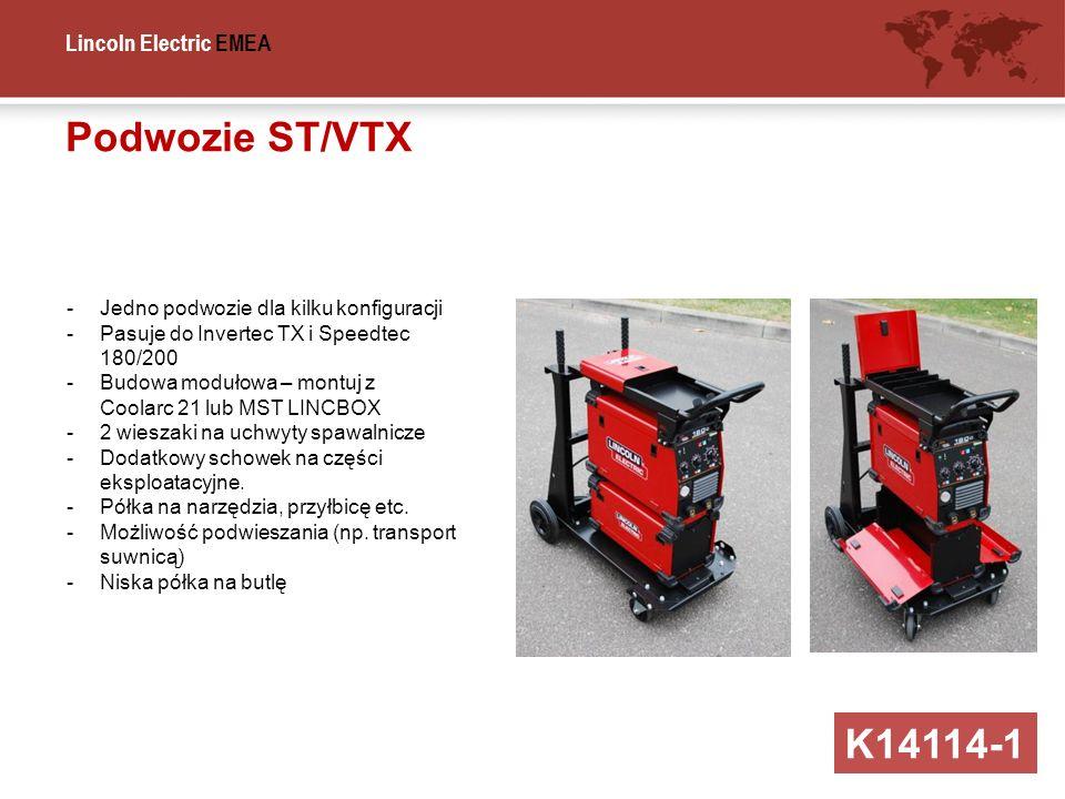 Podwozie ST/VTX K14114-1 Jedno podwozie dla kilku konfiguracji