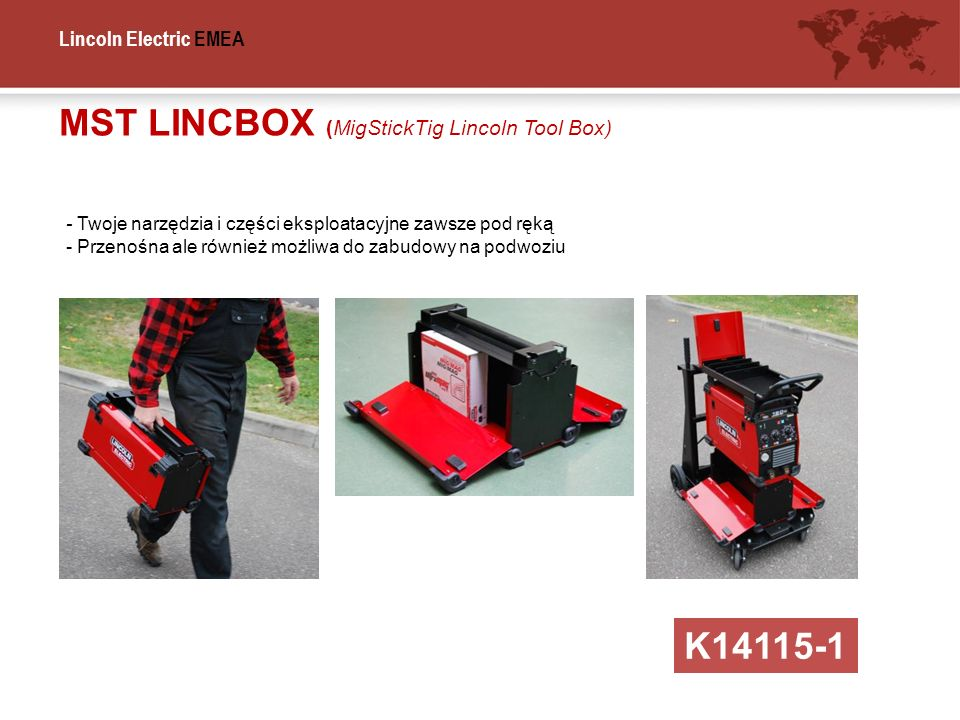MST LINCBOX (MigStickTig Lincoln Tool Box)