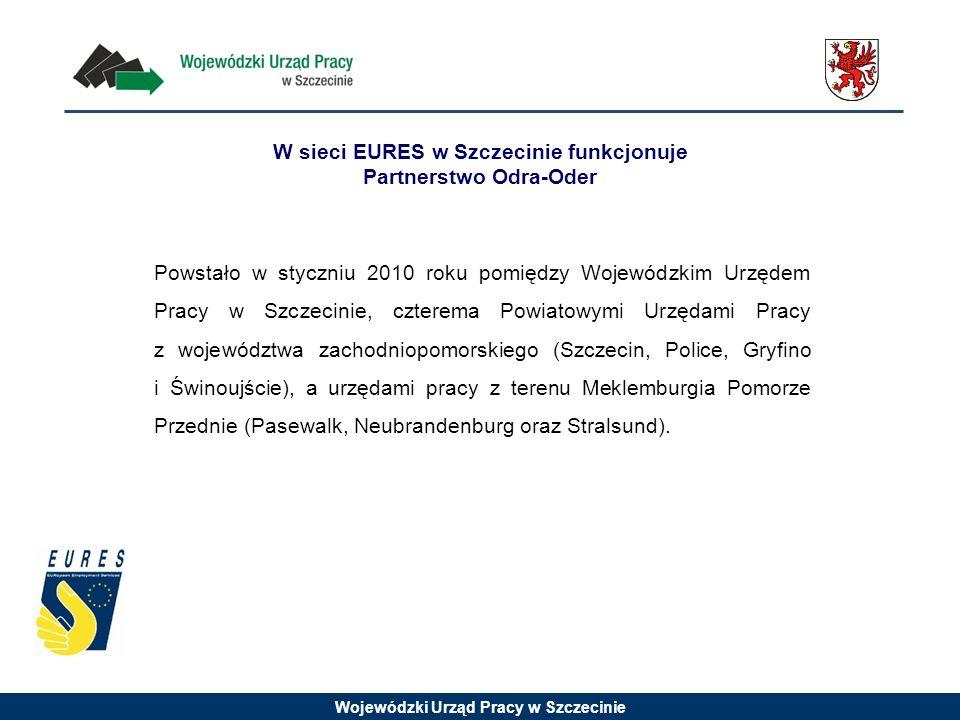 W sieci EURES w Szczecinie funkcjonuje Partnerstwo Odra-Oder