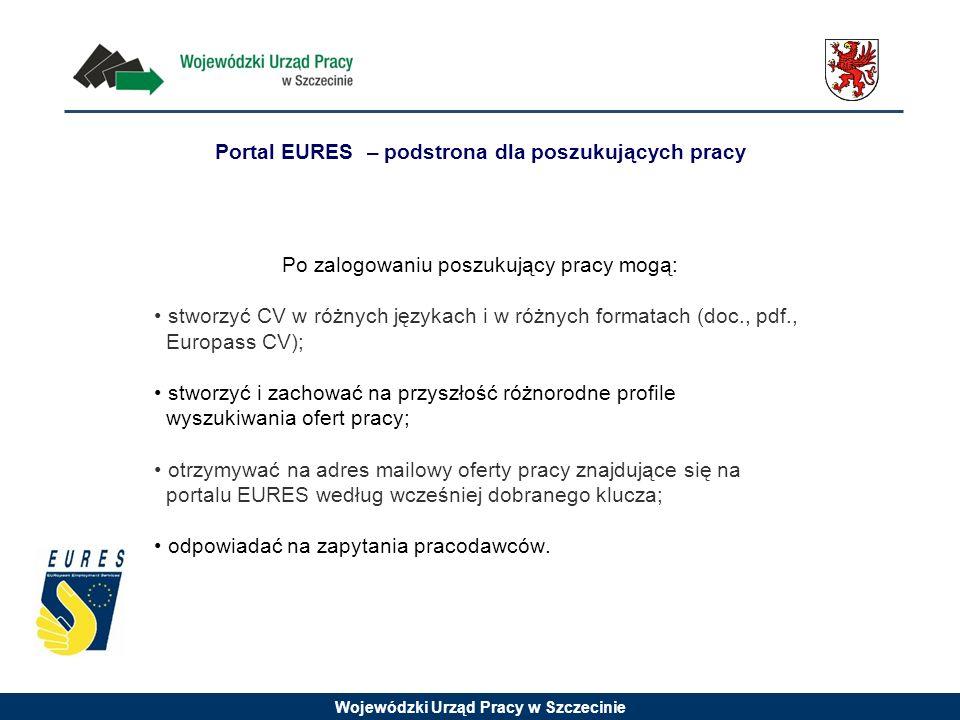 Portal EURES – podstrona dla poszukujących pracy
