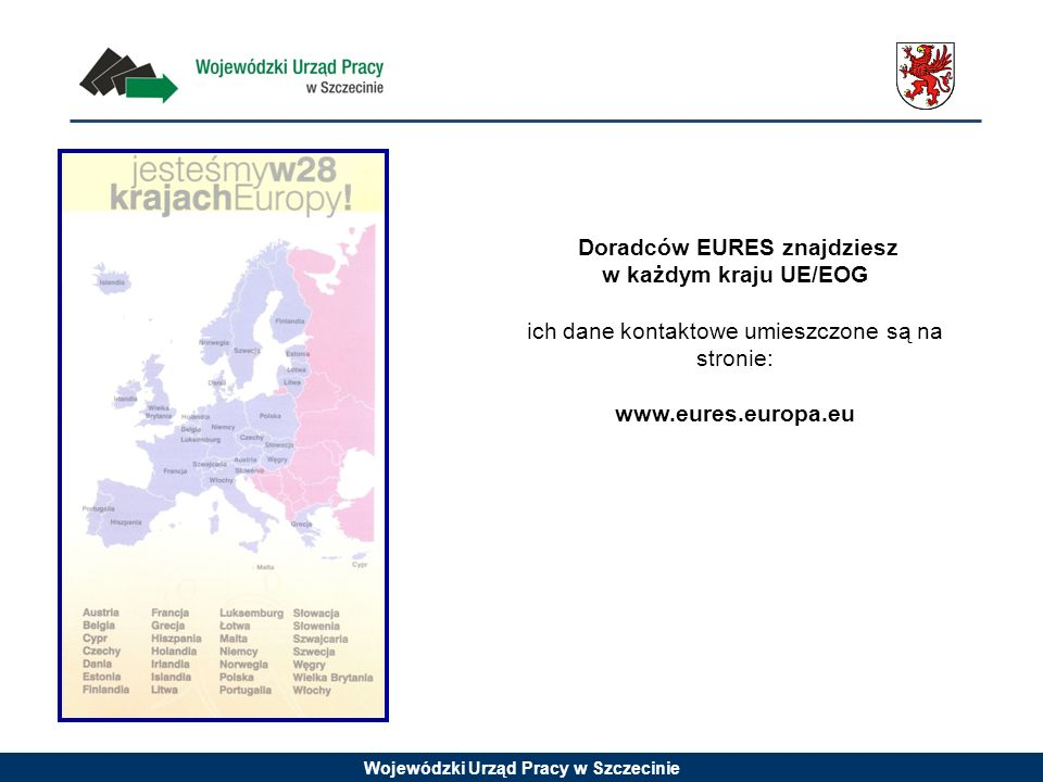 Doradców EURES znajdziesz w każdym kraju UE/EOG