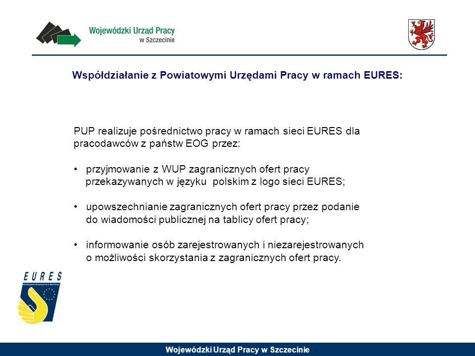 Współdziałanie z Powiatowymi Urzędami Pracy w ramach EURES: