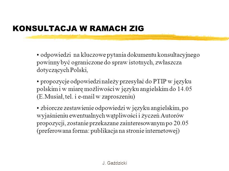 KONSULTACJA W RAMACH ZIG