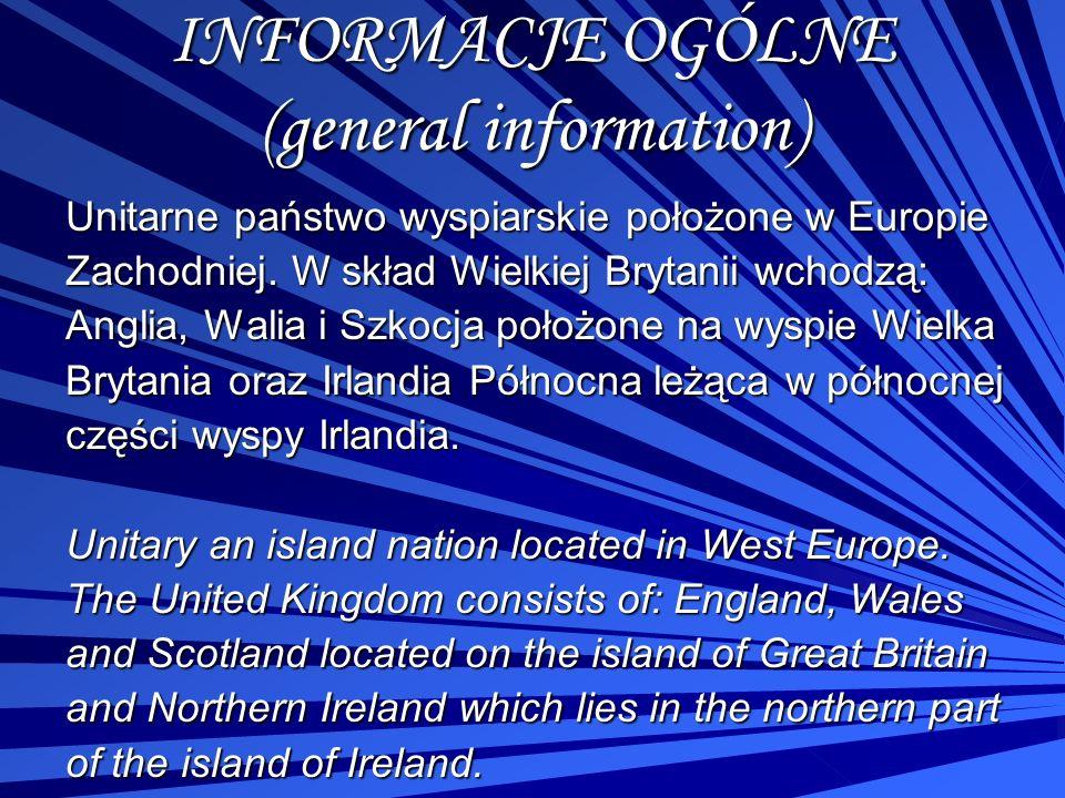 INFORMACJE OGÓLNE (general information)