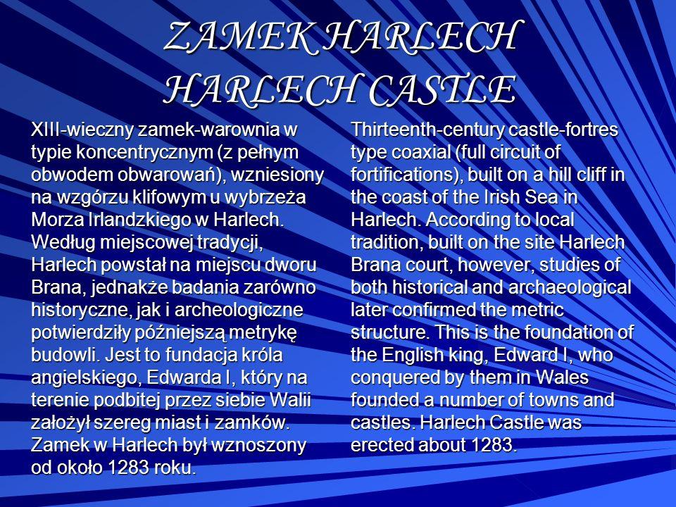 ZAMEK HARLECH HARLECH CASTLE