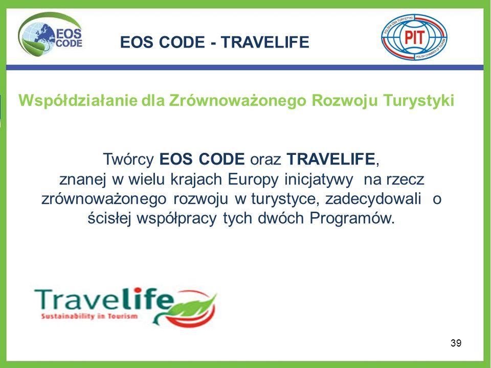 Twórcy EOS CODE oraz TRAVELIFE,