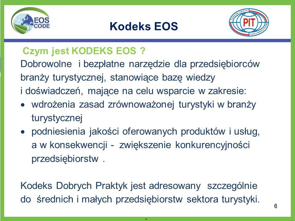 Kodeks EOS Czym jest KODEKS EOS