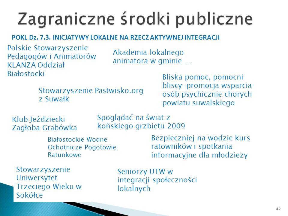 Zagraniczne środki publiczne
