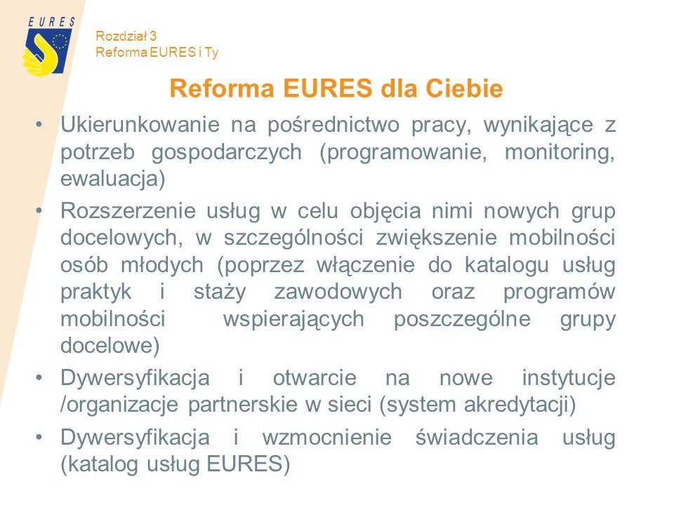 Reforma EURES dla Ciebie