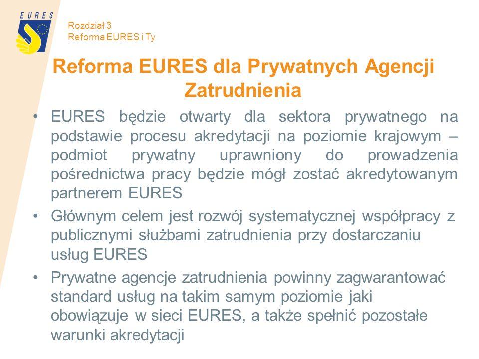 Reforma EURES dla Prywatnych Agencji Zatrudnienia