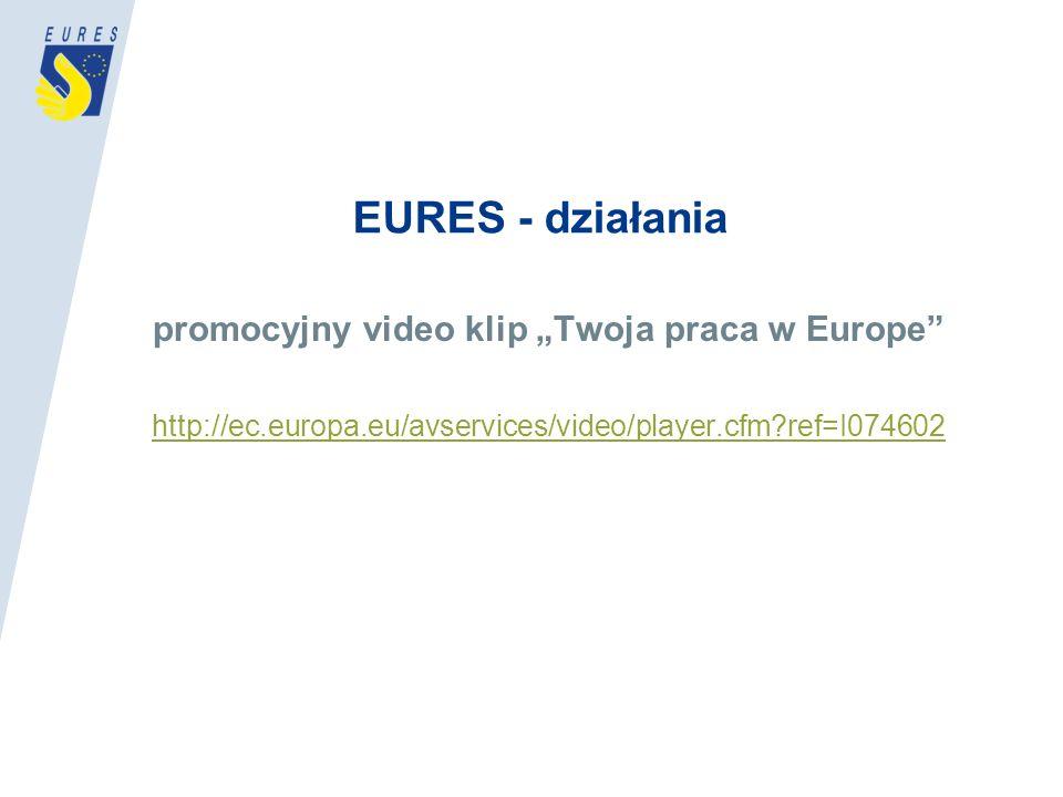 """promocyjny video klip """"Twoja praca w Europe"""