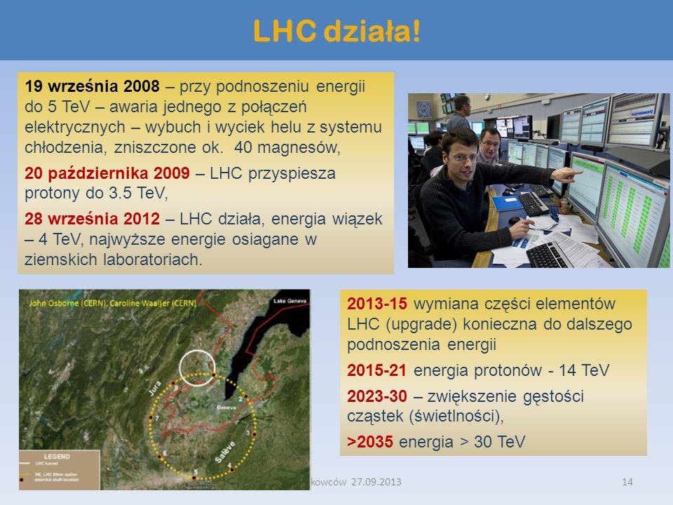 LHC działa!