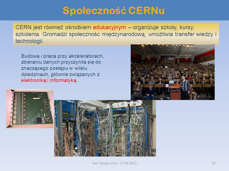Społeczność CERNu