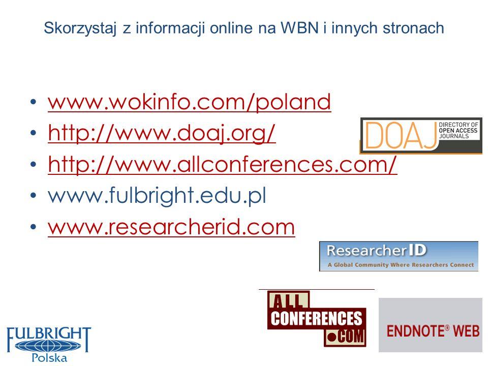 Skorzystaj z informacji online na WBN i innych stronach