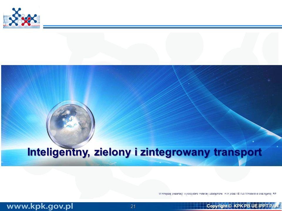 Inteligentny, zielony i zintegrowany transport