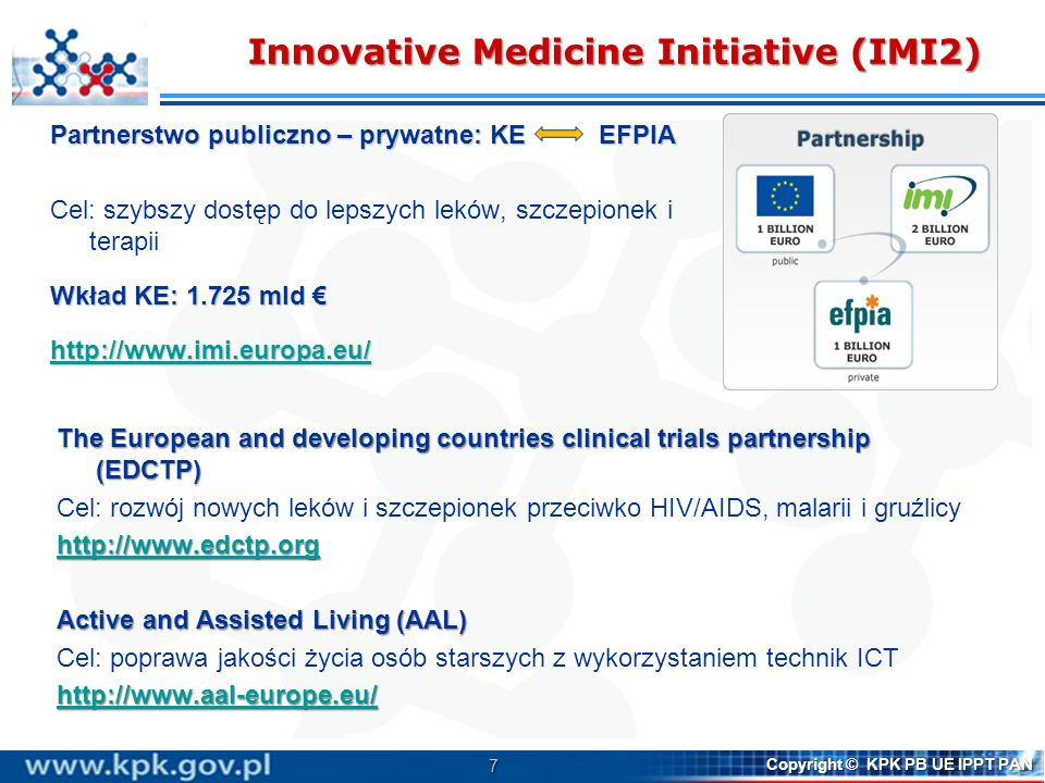 Innovative Medicine Initiative (IMI2)